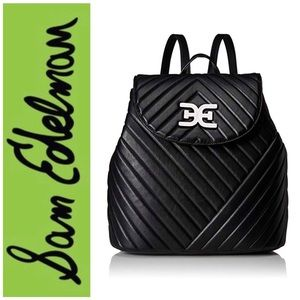Sam Edelman Quilted Martha Flap Backpack